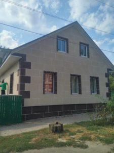 дом после утепления термопанелями