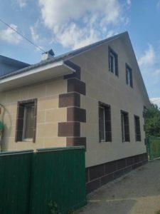 Утепленный дом фото