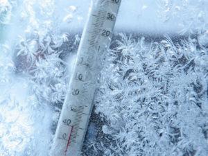 фото суровая зима
