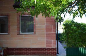 Фасад, утепленный термопанелями