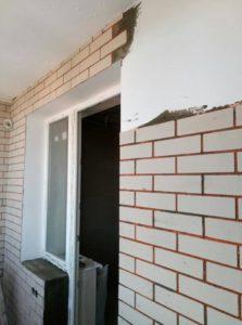 Гибкий кирпич отделка стен
