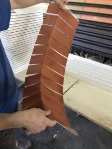Угл клинкер-блок гибкий