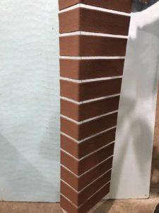 Угловой блок на стеклосетке